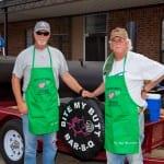 Barbeque contest winners Bob & Rob McCollum